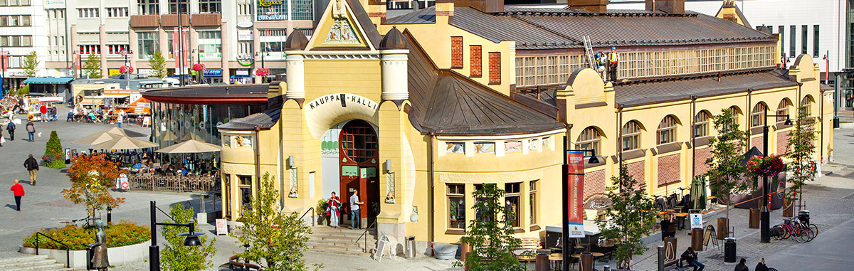 Kuopio: The market hall